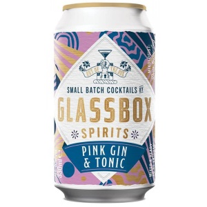 Glassbox Gin & Tonic Cocktail 5% ABV 24 x 330ml Can