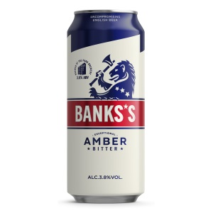 Banks's Amber 3 8% ABV 6x4x500ml Can - Sovereign Beverage